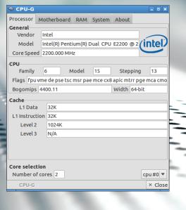 Melihat Informasi Hardware komputer secara Menyeluruh di Linux dengan CPU-G