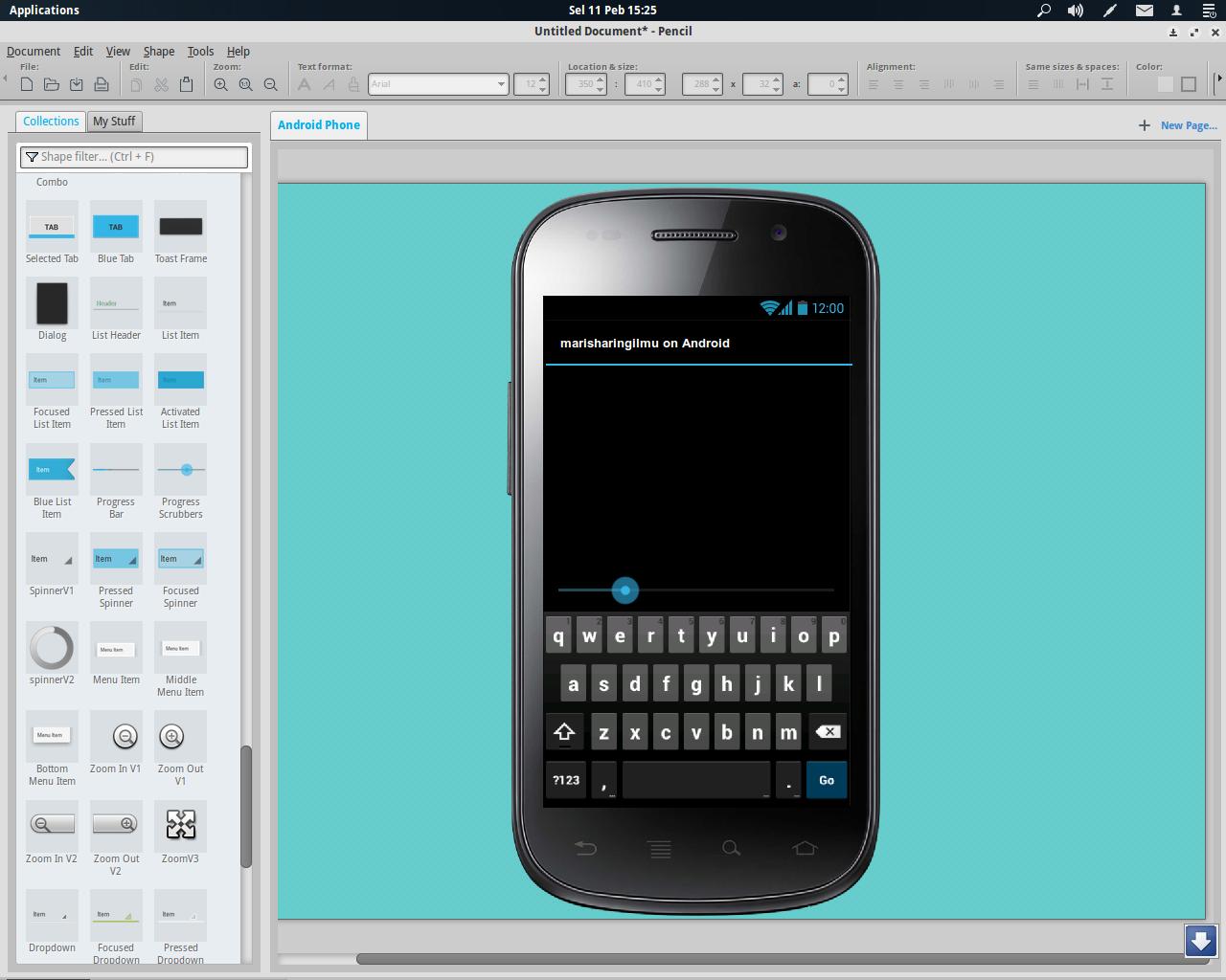 Membuat Desain Tampilan Android Mari Berbagi
