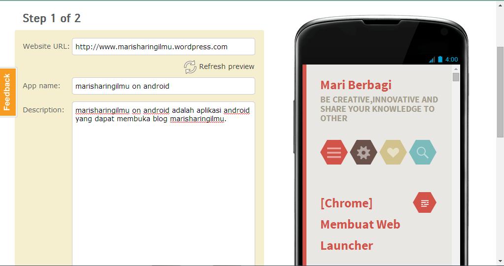 Android] Membuat Aplikasi Android dengan Mudah Menggunakan AppsGeyser