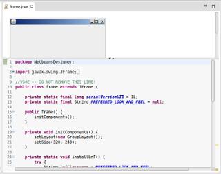 Swing GUI Builder Netbeans di Eclipse – Mari Berbagi
