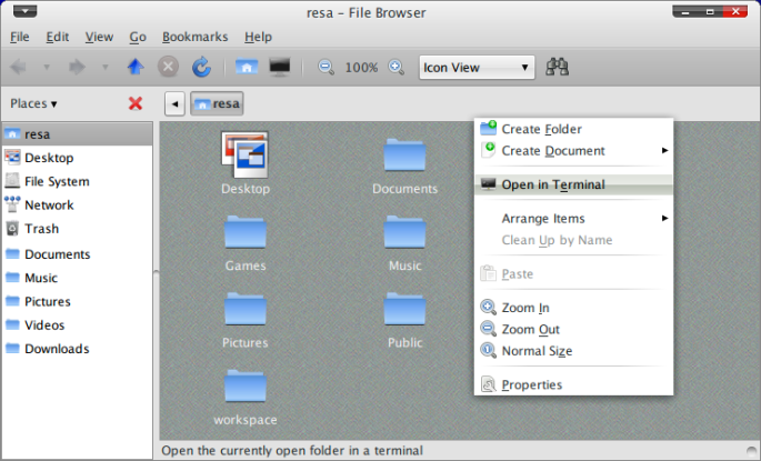 Screenshot-resa - File Browser
