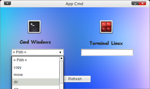 Screenshot-App Cmd